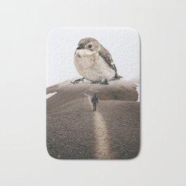 Big Little Bird by GEN Z Bath Mat