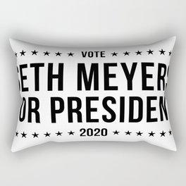 Seth Meyers for President 2020 Rectangular Pillow