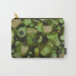 Overflow, Green Tea Carry-All Pouch
