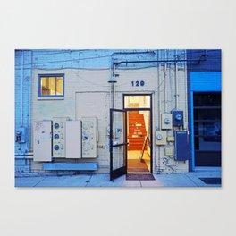 Artist Building Canvas Print