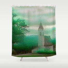 Fata Iglesia Alpina Shower Curtain