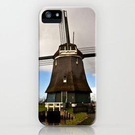 Traditional Dutch Windmill iPhone Case