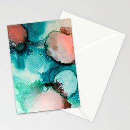 Ink painting Stationery Cards