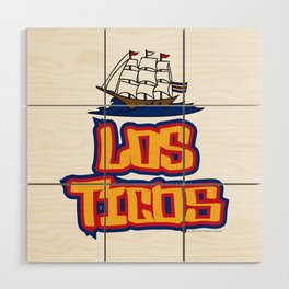 Costa Rica Los Ticos ~Group E~ Wood Wall Art
