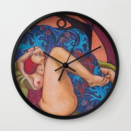 Altarpiece 3 Wall Clock