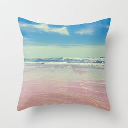 Sea waves 6 Throw Pillow