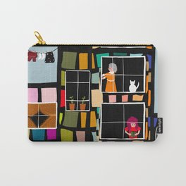 At Home In The City Carry-All Pouch