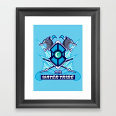 Avatar Nations Series - Water Tribe Framed Art Print