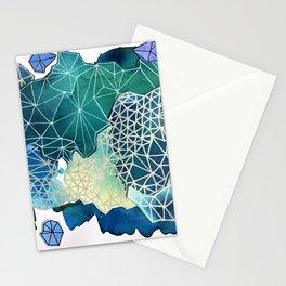 A Blue Web Stationery Cards