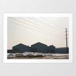 Industry Artifacts 03 Art Print