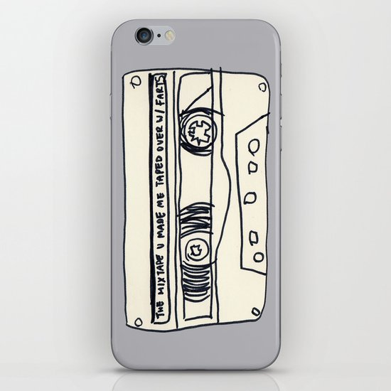 cassette schmassette iPhone & iPod Skin