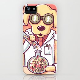 Lab in the Lab iPhone Case