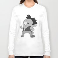 rat Long Sleeve T-shirts featuring Rat  by Gustrazo
