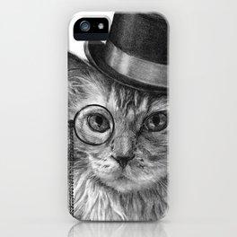 Monsieur Mack iPhone Case