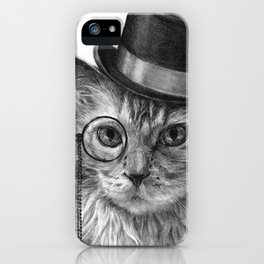 Monsieur Mack iPhone Case