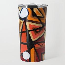 Geometric Composition Travel Mug