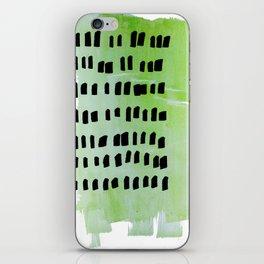 little green iPhone Skin