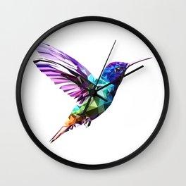 Little humming bird Wall Clock
