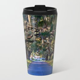 Avenue Of Live Oaks Travel Mug