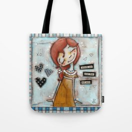 Smooth Your Face - by Diane Duda Tote Bag