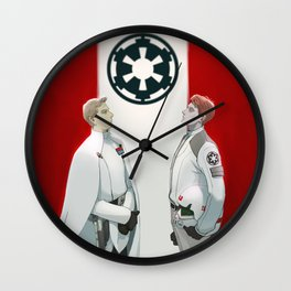 Director krennic and cadet hux Wall Clock