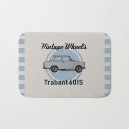 Vintage Wheels - Trabant 601S Bath Mat
