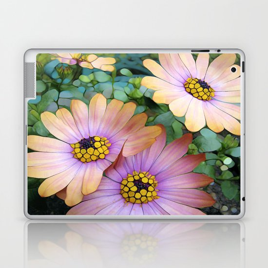 Glowing Gerbera's Laptop & iPad Skin