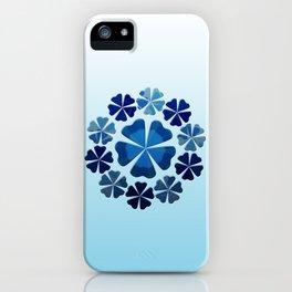 Winter Flower Snowflake iPhone Case