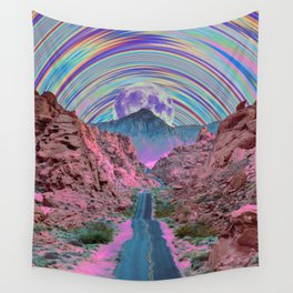 Colorful Journey Wall Tapestry