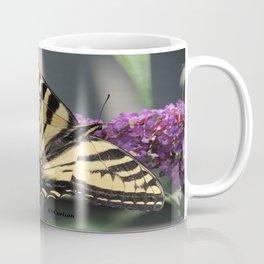 Western Tiger Swallowtail in the Shade Coffee Mug