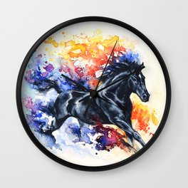 """He appears""  Wall Clock"