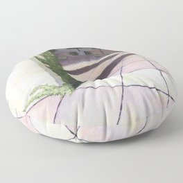 The Beautiful Ugly Building Floor Pillow