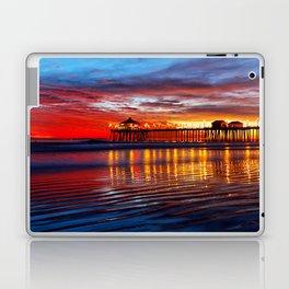 Huntington Beach Sunset   12/2/13 Laptop & iPad Skin