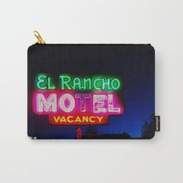 El Rancho Motel ... Carry-All Pouch