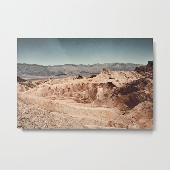Desert Cliffs Metal Print