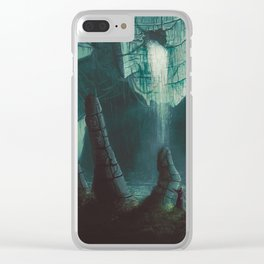 Erosion Clear iPhone Case