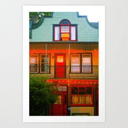 Portland Forms Art Print