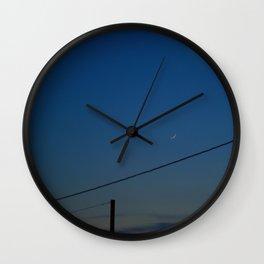 Night Time in Istanbul Wall Clock