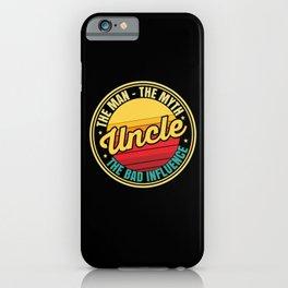 Best Uncle iPhone Case