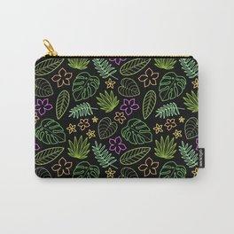 Tropical Neon Carry-All Pouch