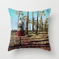 hollywood Throw Pillows featuring Hollywood by Loveurstyle