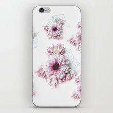 Geometry pastel flowers iPhone & iPod Skin