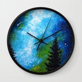 Resplandeciente Wall Clock