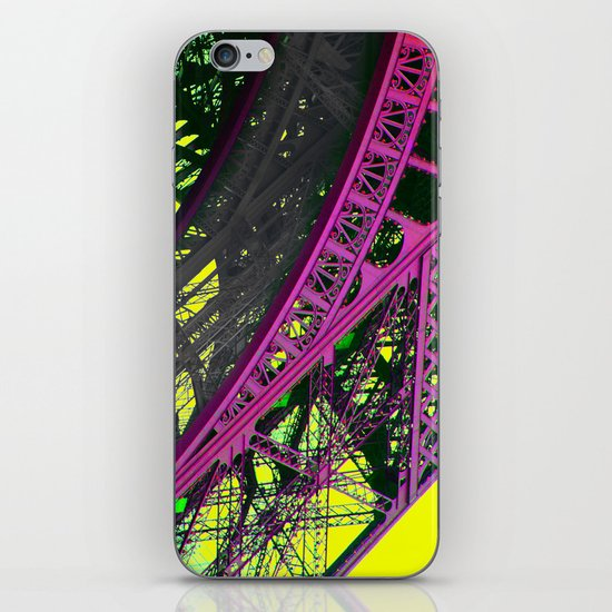 purple paris iPhone & iPod Skin