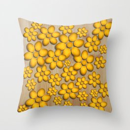 Floret Throw Pillow