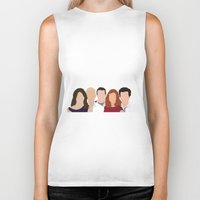 himym Biker Tanks featuring How I Met Your Mother by Rosaura Grant