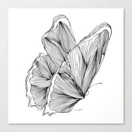 Butterfly Go Fly 2 Canvas Print