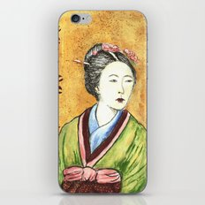 Japanese Woman iPhone Skin