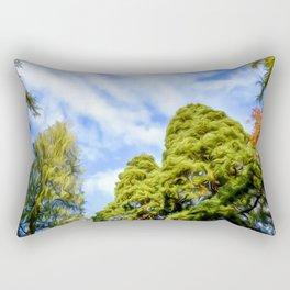 Tree Art Twi Rectangular Pillow