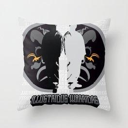 Illustrious Warriors Throw Pillow